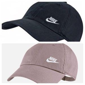 [2] Nike Adjustable Hat // Particle Pink & Black
